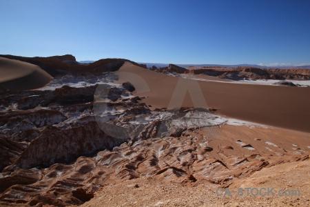 Rock salt valley of the moon south america valle de la luna.