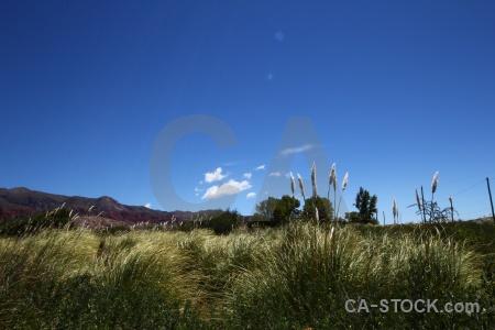 Rock sky mountain landscape quebrada de humahuaca.