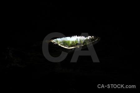 Rock south america cave patagonia cueva del milodon.