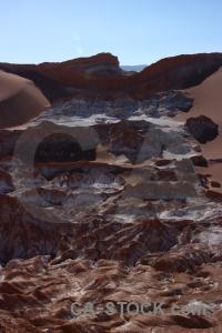 Rock south america sky atacama desert cordillera de la sal.