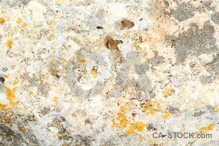 Rock texture stone white yellow.