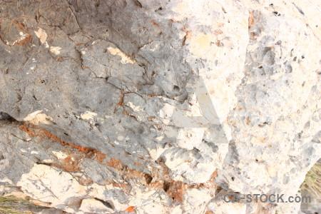 Rock white stone texture.