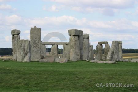 Rock wiltshire stonehenge europe england.