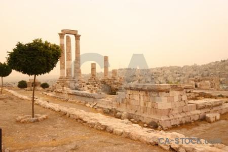 Roman jordan ancient stone archaeological.
