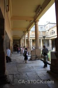 Roman person building uk bath.