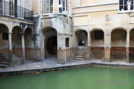 Roman pool uk water building.