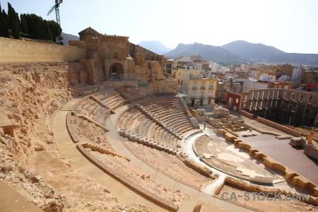 Roman theatre roman spain cartagena arena.