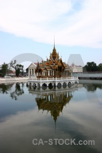 Royal archway aisawan dhiphya asana thailand unesco.