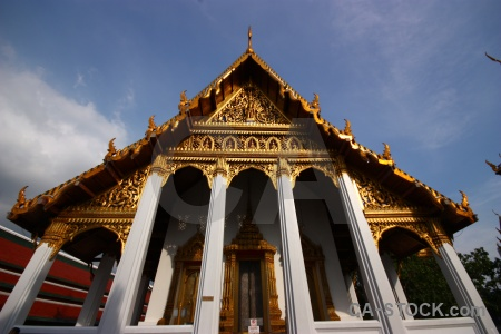 Royal palace southeast asia building gold bangkok.