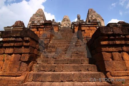 Ruin angkor unesco stone khmer.
