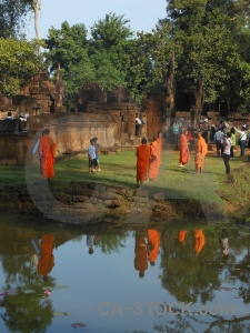 Ruin buddhism buddhist monk asia.