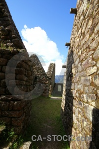 Ruin inca trail mountain south america winay wayna.