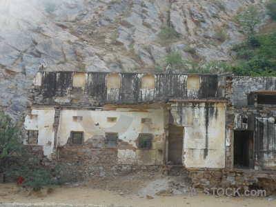 Ruin south asia jaipur hindu temple.