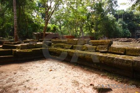 Ruin southeast asia stone unesco khmer.
