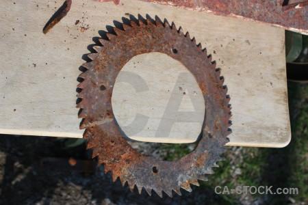 Rust metal object.