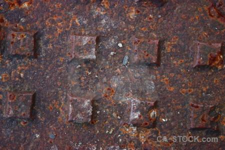 Rust texture.