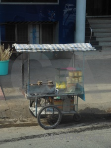 Saigon southeast asia building vehicle cart.