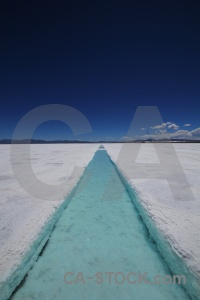 Salinas grandes mountain landscape south america channel.