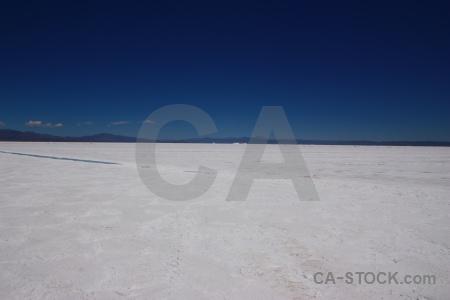 Salinas grandes sky argentina mountain landscape.