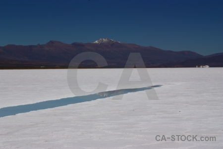 Salt flat andes mountain salinas grandes south america.