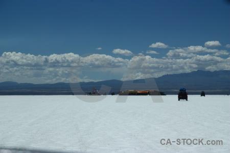 Salt flat bolivia cloud salar de uyuni salt.