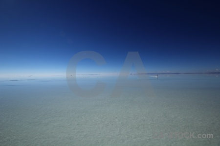 Salt flat lake south america water bolivia.