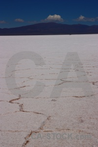 Salt flat salinas grandes argentina mountain landscape.
