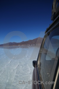 Salt flat water salt south america landscape.