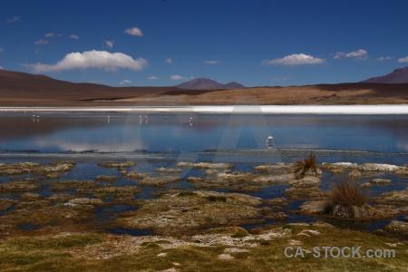 Salt lake bolivia altitude sky reflection.