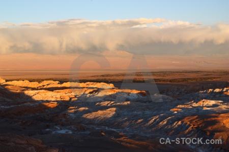 Salt san pedro de atacama valle la luna valley of the moon desert.