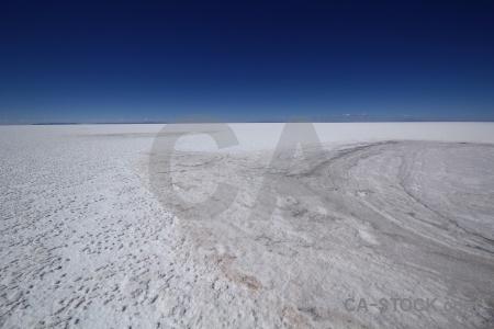 Salt sky landscape south america salar de uyuni.