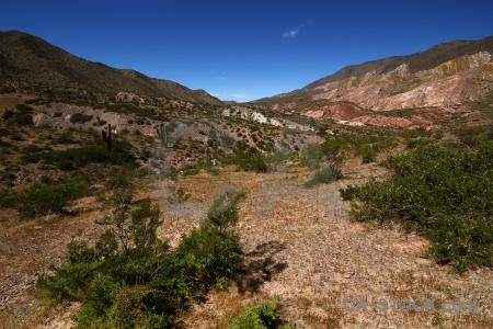 Salta tour 2 landscape sky south america bush.