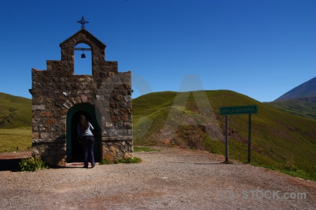 Salta tour 2 sky altitude capilla san rafael mountain.