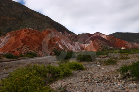 Salta tour cloud landscape south america rock.