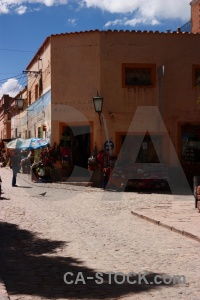 Salta tour humahuaca cloud person south america.