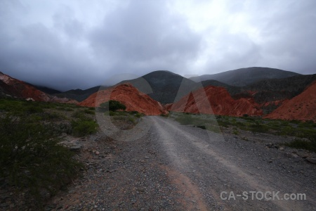 Salta tour rock landscape cloud mountain.