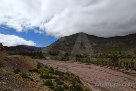 Salta tour south america cloud valley mountain.