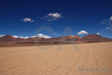 Salvador dali desert cloud andes sky bolivia.