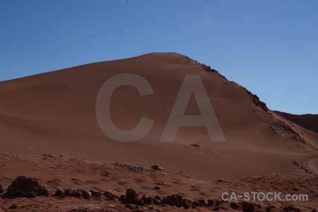 San pedro de atacama desert dune cordillera la sal chile.