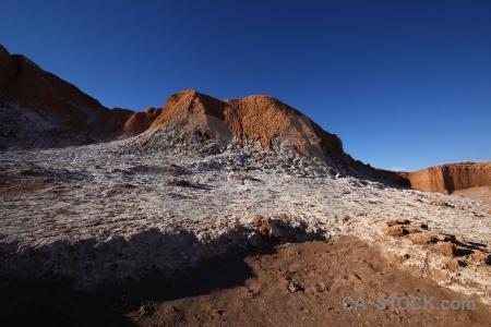 San pedro de atacama desert sky salt mountain.