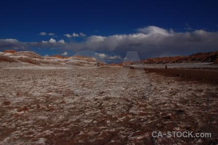 San pedro de atacama desert sky south america cordillera la sal.