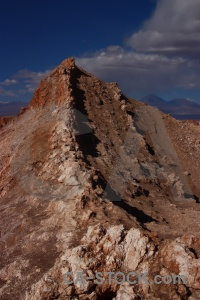 San pedro de atacama mountain rock south america valley of the moon.