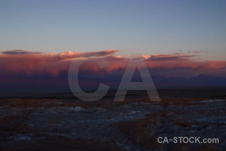 San pedro de atacama sky landscape desert south america.