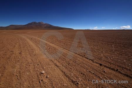 Sand altitude bolivia track andes.