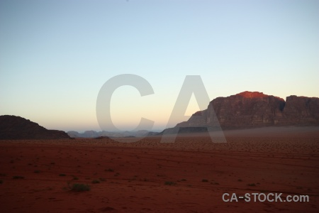 Sand landscape bedouin western asia jordan.