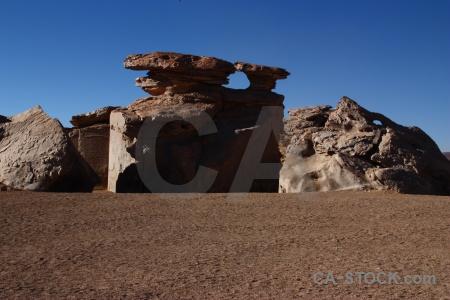 Sand rock bolivia sky altitude.