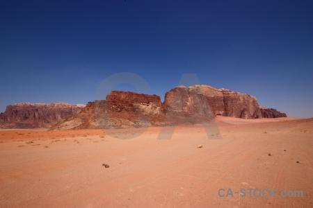 Sand rock sky landscape western asia.
