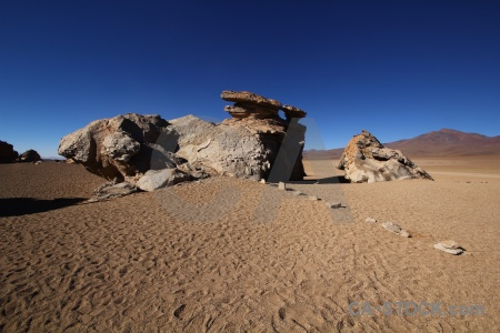 Sand south america rock bolivia andes.