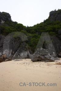 Sand stone mountain southeast asia sky.