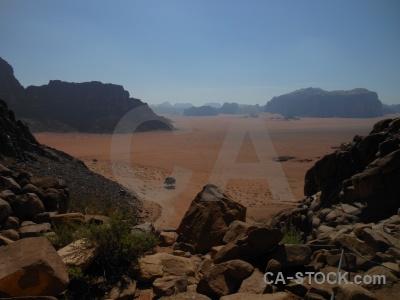 Sand wadi rum bedouin ain shalaaleh asia.